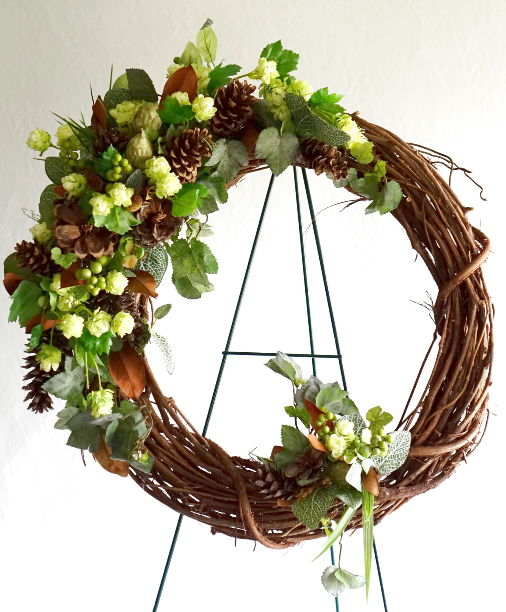 Nature funeral wreath signature floral gallery funeral wreath one masc izmirmasajfo